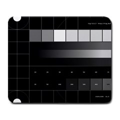 Grayscale Test Pattern Large Mousepads