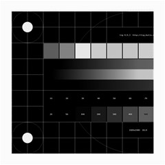 Grayscale Test Pattern Medium Glasses Cloth (2-Side)