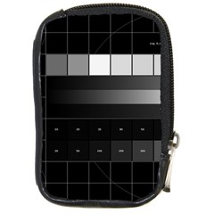 Grayscale Test Pattern Compact Camera Cases