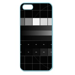 Grayscale Test Pattern Apple Seamless iPhone 5 Case (Color)