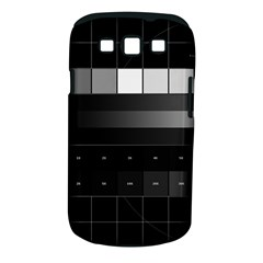 Grayscale Test Pattern Samsung Galaxy S III Classic Hardshell Case (PC+Silicone)