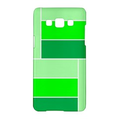 Green Shades Geometric Quad Samsung Galaxy A5 Hardshell Case