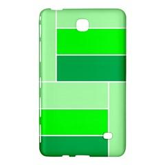 Green Shades Geometric Quad Samsung Galaxy Tab 4 (8 ) Hardshell Case