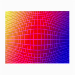 Grid Diamonds Figure Abstract Small Glasses Cloth (2-Side)