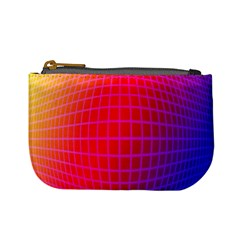 Grid Diamonds Figure Abstract Mini Coin Purses