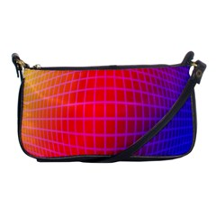 Grid Diamonds Figure Abstract Shoulder Clutch Bags