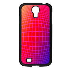 Grid Diamonds Figure Abstract Samsung Galaxy S4 I9500/ I9505 Case (Black)