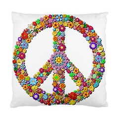 Groovy Flower Clip Art Standard Cushion Case (one Side)