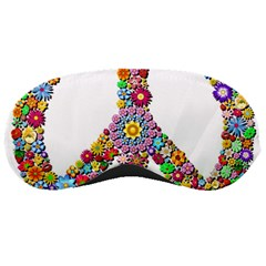 Groovy Flower Clip Art Sleeping Masks