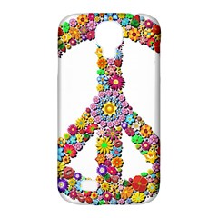 Groovy Flower Clip Art Samsung Galaxy S4 Classic Hardshell Case (PC+Silicone)