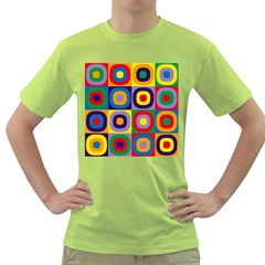 Kandinsky Circles Green T Shirt