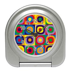 Kandinsky Circles Travel Alarm Clocks