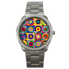 Kandinsky Circles Sport Metal Watch