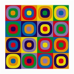 Kandinsky Circles Medium Glasses Cloth (2-Side)