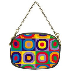Kandinsky Circles Chain Purses (Two Sides)