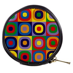 Kandinsky Circles Mini Makeup Bags