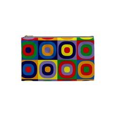 Kandinsky Circles Cosmetic Bag (Small)