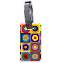 Kandinsky Circles Luggage Tags (Two Sides)