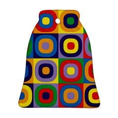 Kandinsky Circles Ornament (Bell)