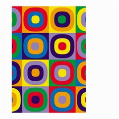 Kandinsky Circles Small Garden Flag (Two Sides)