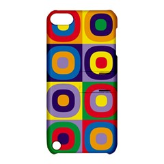 Kandinsky Circles Apple iPod Touch 5 Hardshell Case with Stand