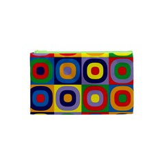 Kandinsky Circles Cosmetic Bag (XS)