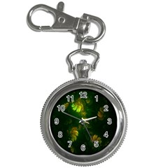 Light Fractal Plants Key Chain Watches