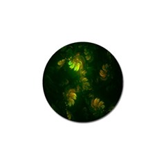 Light Fractal Plants Golf Ball Marker (4 pack)