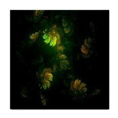 Light Fractal Plants Face Towel