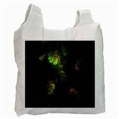 Light Fractal Plants Recycle Bag (Two Side)