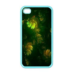 Light Fractal Plants Apple iPhone 4 Case (Color)