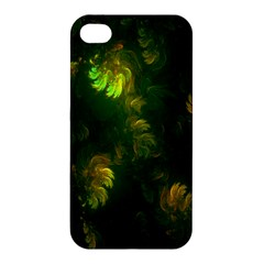 Light Fractal Plants Apple iPhone 4/4S Hardshell Case