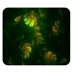 Light Fractal Plants Double Sided Flano Blanket (Small)