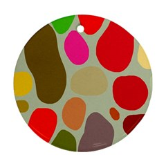 Pattern Design Abstract Shapes Ornament (Round)
