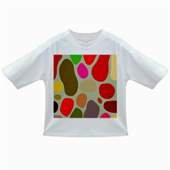 Pattern Design Abstract Shapes Infant/Toddler T-Shirts