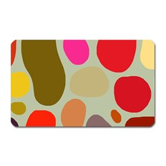 Pattern Design Abstract Shapes Magnet (Rectangular)