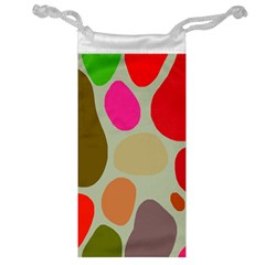 Pattern Design Abstract Shapes Jewelry Bag