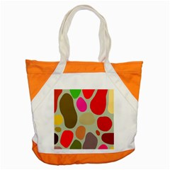 Pattern Design Abstract Shapes Accent Tote Bag