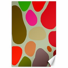 Pattern Design Abstract Shapes Canvas 20  x 30