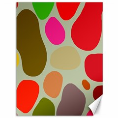 Pattern Design Abstract Shapes Canvas 36  x 48