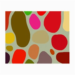 Pattern Design Abstract Shapes Small Glasses Cloth (2-Side)