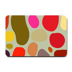 Pattern Design Abstract Shapes Small Doormat