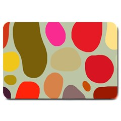 Pattern Design Abstract Shapes Large Doormat
