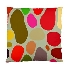 Pattern Design Abstract Shapes Standard Cushion Case (one Side)