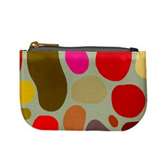 Pattern Design Abstract Shapes Mini Coin Purses