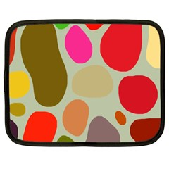 Pattern Design Abstract Shapes Netbook Case (XL)