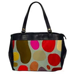 Pattern Design Abstract Shapes Office Handbags