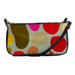 Pattern Design Abstract Shapes Shoulder Clutch Bags