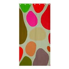 Pattern Design Abstract Shapes Shower Curtain 36  x 72  (Stall)