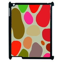 Pattern Design Abstract Shapes Apple iPad 2 Case (Black)